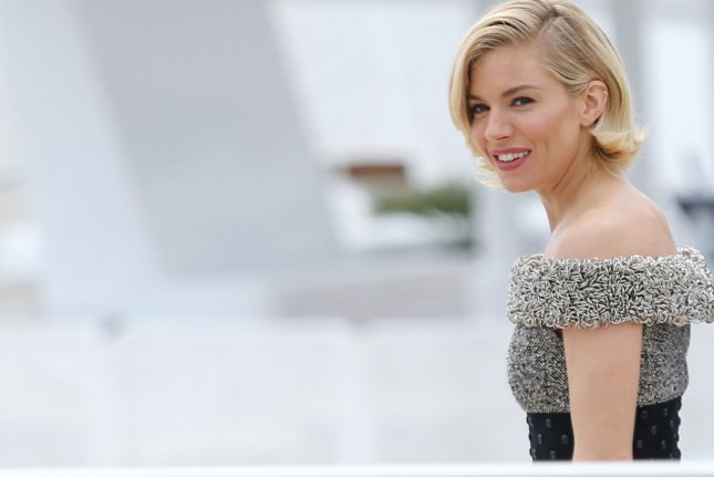 Jury member Sienna Miller arrives at a jury photo call during the 68th annual Cannes International Film Festival in Cannes, France on May 13, 2015. File Photo by David Silpa/UPI