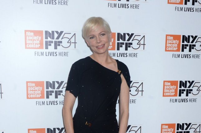 Michelle Williams arrives on the red carpet at the Certain Women premiere at the 54th New York Film Festival at Alice Tully Hall, Lincoln Center, in New York City on October 3, 2016. Williams is set to star as Janis Joplin in the upcoming biopic, Janis. Photo by Dennis Van Tine/UPI