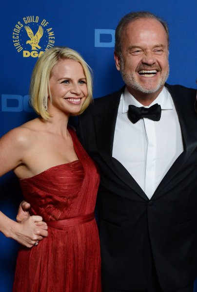 Actor Kelsey Grammer and his wife Kayte Walsh attend the 65th annual Directors Guild of America Awards, which were held Saturday night at the Ray Dolby Ballroom at Hollywood & Highland in Los Angeles on February 13, 2013. UPI/Jim Ruymen