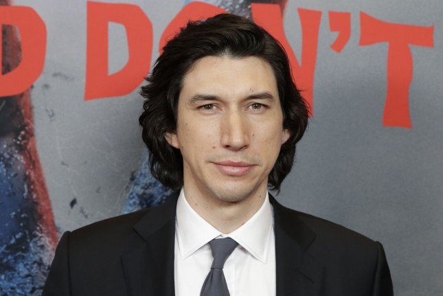 Adam Driver will receive a Silver Medallion Award at the 46th annual Telluride Film Festival, which is screening his films The Report and Marriage Story. File Photo by John Angelillo/UPI