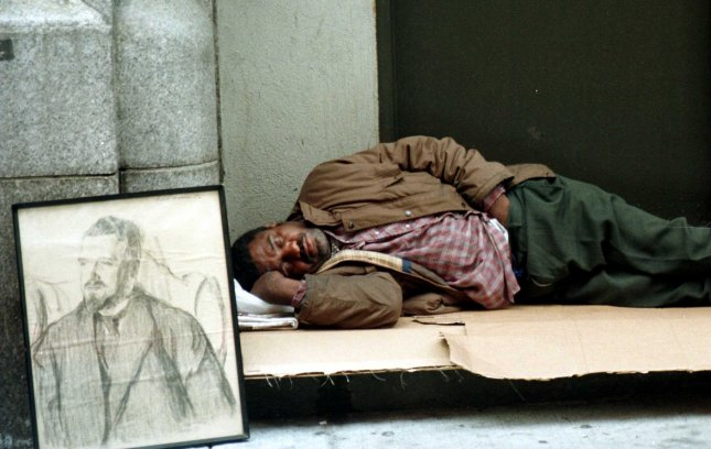 The U.S. Supreme Court Monday declined to hear a case about whether homeless people sleeping outdoors should be criminalized.  File Photo by Ezio Petersen/UPI