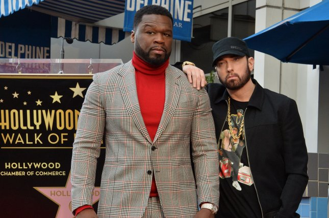 50 Cent says he 'persuaded' Eminem to take 'BMF' role