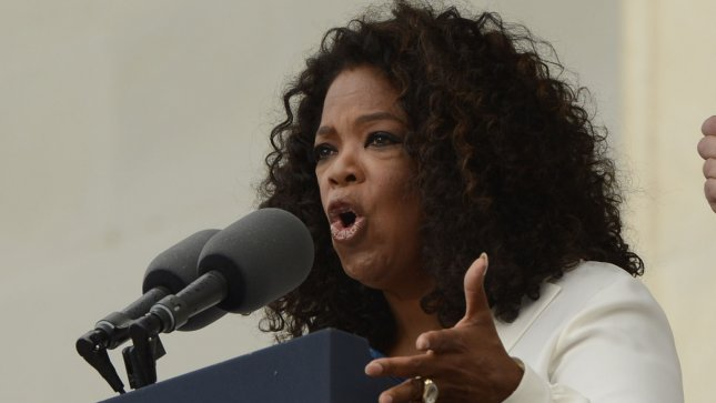 US actress and entertainer Oprah Winfrey said she suffered symptoms of a nervous breakdown over struggling OWN network. UPI/Michael Reynolds