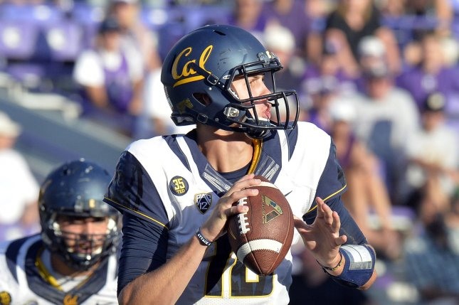 California Bears quarterback Jared Goff. UPI/Brian Kersey