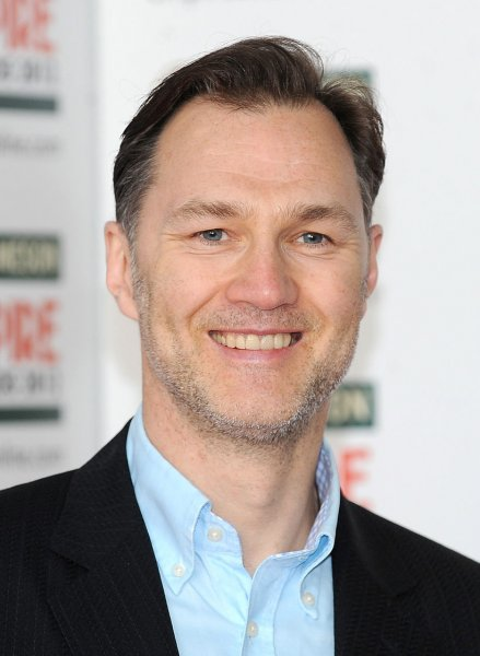 David Morrissey attends the Empire Awards 2012 in London on March 25, 2012. His show The Missing will be available to Starz subscribers for binge-watching on Feb. 12. File Photo by Paul Treadway/UPI