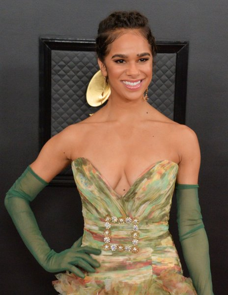 Misty Copeland arrives for the 62nd annual Grammy Awards held at Staples Center in Los Angeles on January 26. On June 30, 2015, the American Ballet Theater promoted Copeland to be principal dancer -- the highest rank within a professional dance company. She was the first African-American woman to hold the post for the company. File Photo by Jim Ruymen/UPI