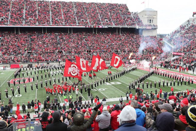 A new study says up to 15% of college athletes at Ohio State suffered heart damage from COVID-19. Photo by Aaron Josefczyk/UPI