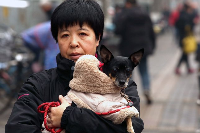 Chinese officials in Yunnan Province have threatened to euthanize dogs under new guidelines that are being reviewed. File Photo by Stephen Shaver/UPI