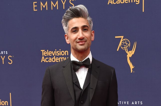 Tan France discussed his unborn son with his husband, Rob France, on A Little Late with Lilly Singh. File Photo by Gregg DeGuire/UPI