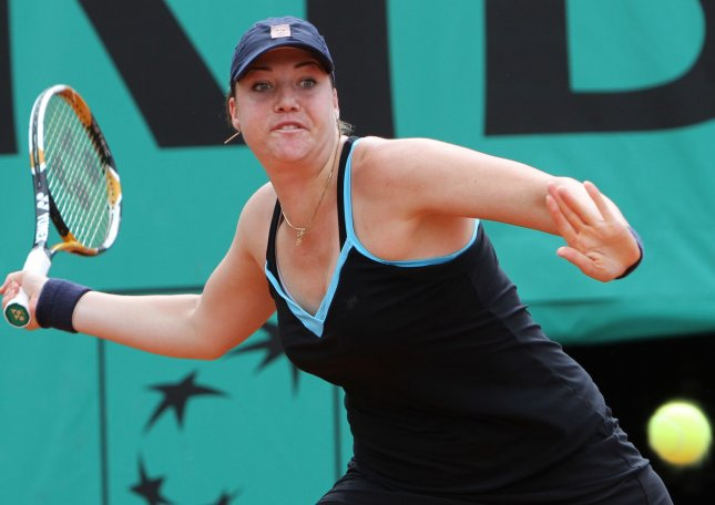 Alisa Kleybanova, shown during last year's French Open, lost only two games in her first-round match Tuesday at the BMW Malaysian Open tennis tournament, Kleybanova is the Malaysian event's defending champion. UPI/David Silpa
