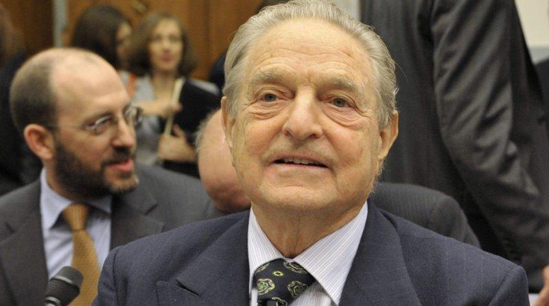 Hedge fund manager George Soros, chairman of Soros Fund Management LLC, is among the large democratic donors contributing to various progressive groups. (UPI Photo/Yuri Gripas)