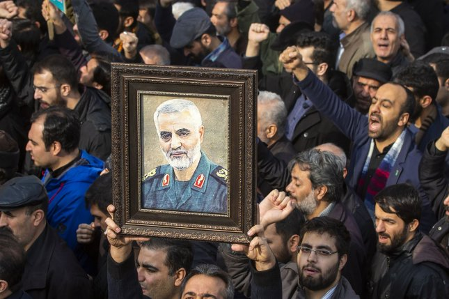 North Korea reported on the death of Iranian Revolutionary Guard Commander Qassem Soleimani on Wednesday. Photo by Maryam Rahmanian/UPI