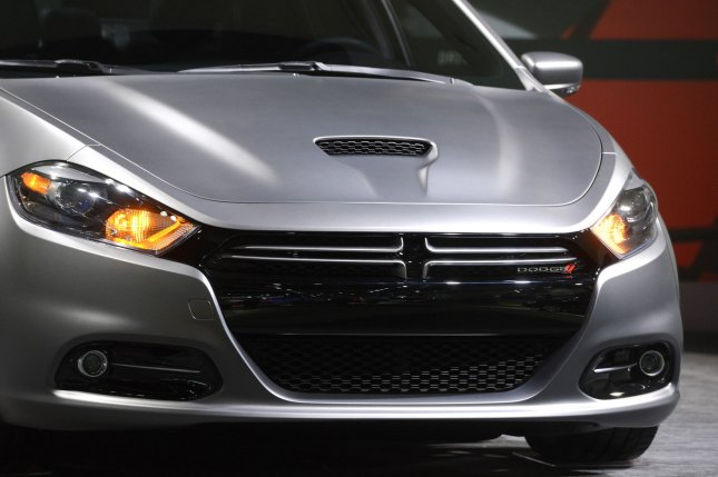 A 2013 Dodge Dart is seen at the 2012 Los Angeles Auto Show held at the Convention Center in Los Angeles, California on November 29, 2012. UPI/Phil McCarten
