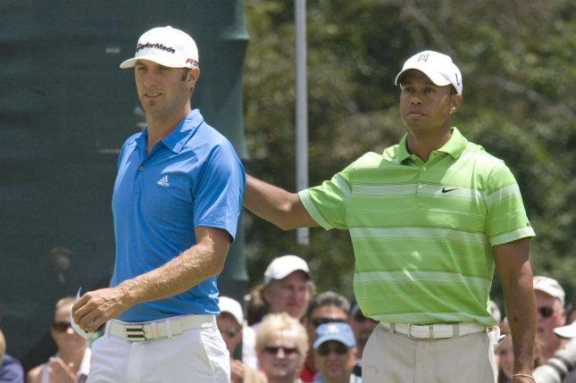 Tiger Woods will be paired with Dustin Johnson and Jason Day in his PGA Tour return Thursday at the 2017 Farmers Insurance Open at Torrey Pines. File photo by John Anderson/UPI
