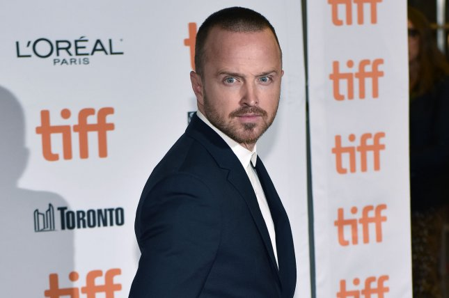 Aaron Paul is set to star in the third season of Westworld. File Photo by Christine Chew/UPI
