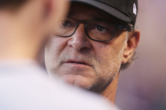 Manager Don Mattingly is in his fourth season with the Miami Marlins. The former New York Yankees star has a good relationship with his young players, thanks to his patience and ability to relate. File Photo by Bill Greenblatt/UPI