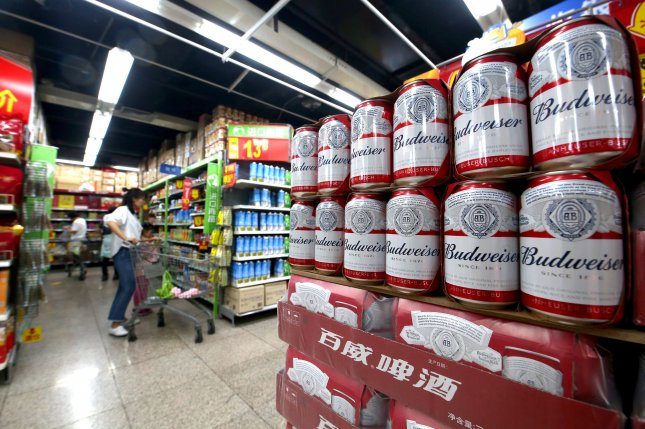 Shoppers are seen on September 27 at one of several Walmart Supercenter locations in Beijing, China.File Photo by Stephen Shaver/UPI