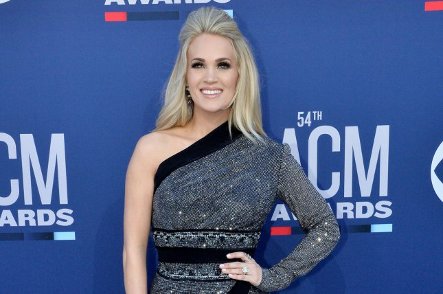 Carrie Underwood will headline the 2020 Stagecoach music festival alongside Thomas Rhett and Eric Church. File Photo by Jim Ruymen/UPI