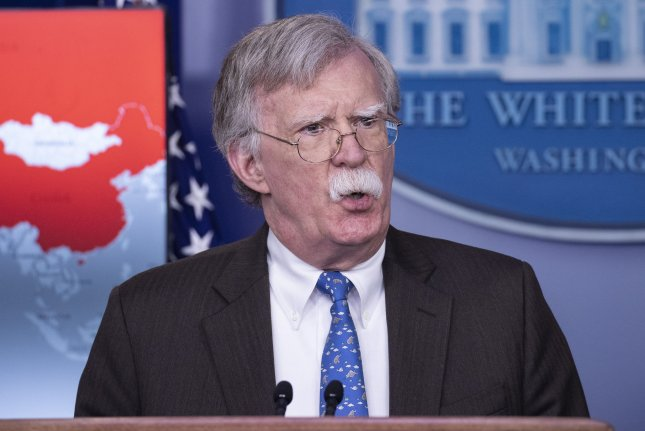 The judge said that while he won't block the release of former national security adviser John Bolton's book, he likely jeopardized national security. File Photo by Alex Edelman/UPI