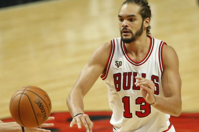 Veteran center Joakim Noah is expected to retire after he is waived by the Los Angeles Clippers. File Photo by Kamil Krzaczynski/UPI