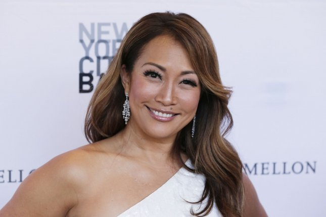 Carrie Ann Inaba is stepping away from The Talk to focus on her health. File Photo by John Angelillo/UPI