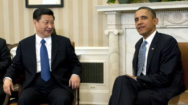 U.S. President Barack Obama is to meet with Chinese President Xi in Palm Springs, California. The meeting will be the first between the two since Xi became president in March. UPI/Kevin Dietsch