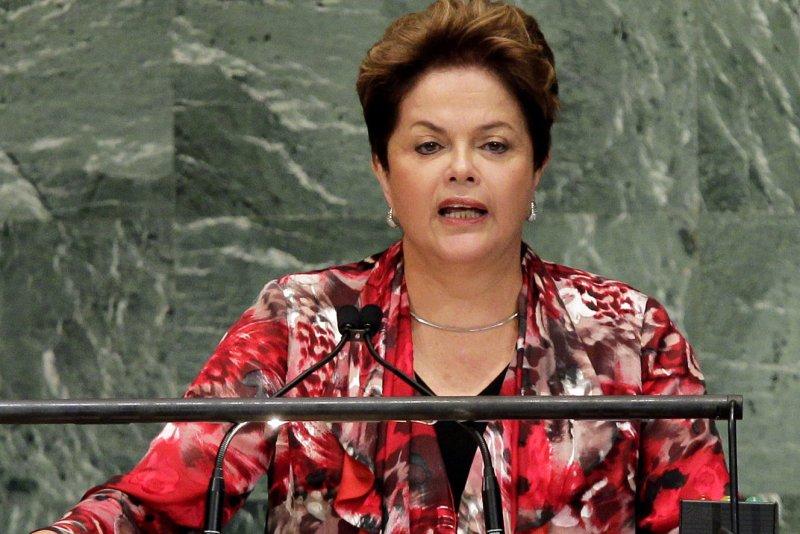 Brazilian President Dilma Rousseff. UPI/John Angelillo