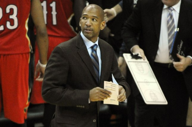 Monty Williams will take over as the Phoenix Suns' head coach after the Philadelphia 76ers' season ends. File Photo by Mark Goldman/UPI