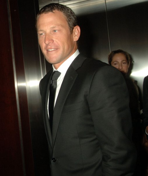 Lance Armstrong attends the Time Magazine 100 Most Influential People in the World party held at Time Warner Center in New York on May 8, 2008. (UPI Photo/Ezio Petersen)
