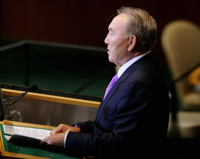 Nursultan Nazarbayev, President of Kazakhstan, United Nations General Assembly. Oil-rich Kazakhstan finalized negotiations on its accession to the World Trade Organization, after 20 years of discussions. File Photo by UPI/Monika Graff
