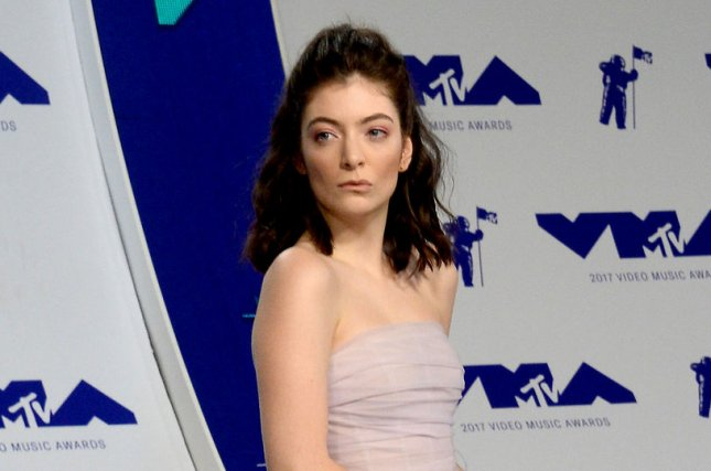 Lorde discussed her new album Solar Power on The Late Show with Stephen Colbert. File Photo by Jim Ruymen/UPI