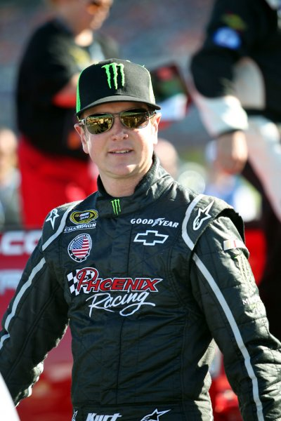 Kurt Busch walks to his car before the Coca-Cola 600 NASCAR Race at the Charlotte Motor Speedway in Concord, North Carolina on May 27, 2012. UPI/Nell Redmond.