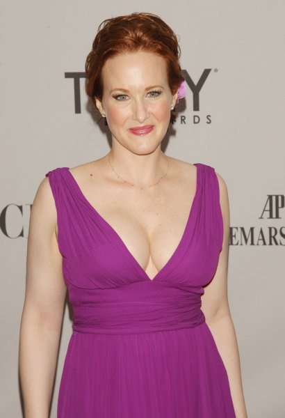 Katie Finneran arrives at the 65th Annual Tony Awards being held at the Beacon Theatre on June 12, 2011 in New York City. UPI/Monika Graff.