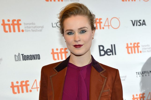 Evan Rachel Wood arrives at the Toronto International Film Festival premiere of Into The Forest at the Winter Garden Theatre in Toronto, Canada, on September 12, 2015. HBO has released a new poster for Wood's upcoming series, Westworld. File Photo by Christine Chew/UPI