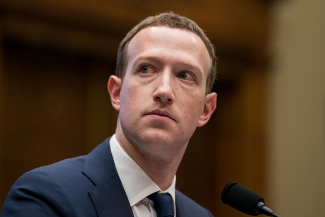 Facebook CEO Mark Zuckerberg faced harsh scrutiny during a shareholder meeting Thursday as he took questions from investors about recent privacy scandals. File Photo by Erin Schaff/UPI