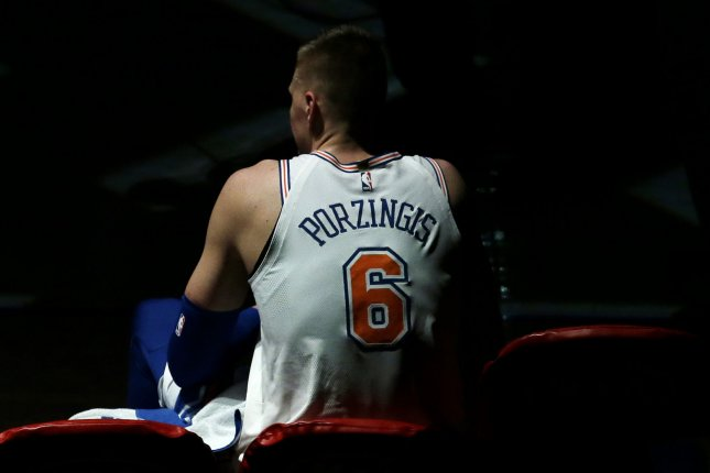 Knicks' Porzingis to be re-evaluated in February