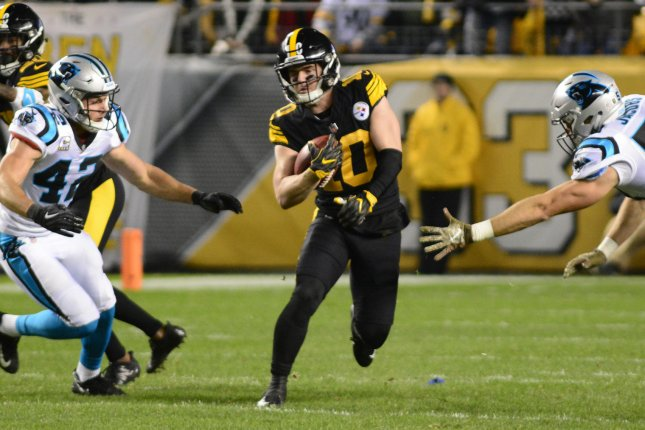 Pittsburgh Steelers wide receiver Ryan Switzer (10) played two seasons for the Steelers. He spent last season on the Cleveland Browns' practice squad. File Photo by Archie Carpenter/UPI