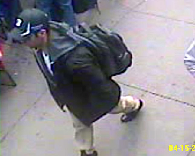 NY woman allegedly defrauded $480,000 from Boston Marathon charity. The FBI released video and photos of two suspects in the Boston marathon bombing on April 18, 2013. The twin bombings killed three and injured 170 on April 15, 2013. This video show Suspect 1 in a black hat. UPI