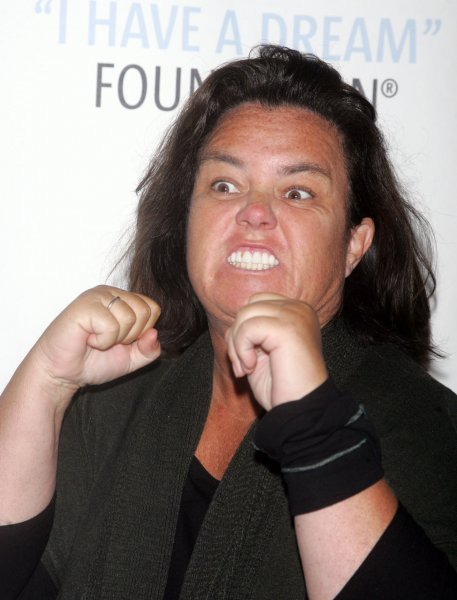 Rosie O'Donnell told the audience at Monday's taping of The Rosie Show in Chicago she is engaged to Michelle Rounds after less than a year of dating, People.com reported. UPI/Laura Cavanaugh