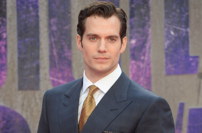 Henry Cavill attending the premiere of Suicide Squad at Odeon, Leicester Square in London on August 3, 2016. Cavill posted a picture on social media showing what appears to be a new black Superman suit. File Photo by Rune Hellestad/ UPI