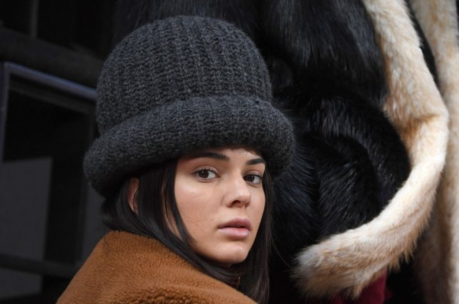 Kendall Jenner attends the Marc Jacobs show at New York Fashion Week on February 16. The model's first Pepsi ad debuted this week to much criticism. File Photo by Andrea Hanks/UPI