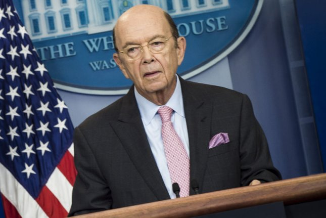 The United States, under a 100-day action plan steered in part by Commerce Secretary Wilbur Ross, lets Chinese companies compete for U.S. liquefied natural gas. Photo by Pete Marovich/UPI
