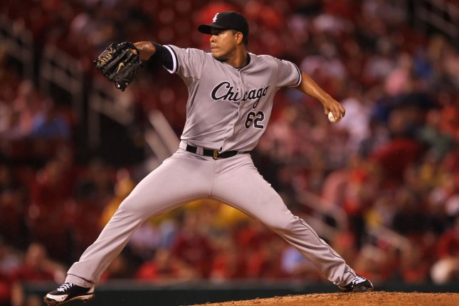 Jose Quintana of the Chicago White Sox has been traded to the Chicago Cubs. Photo by Bill Greenblatt/UPI