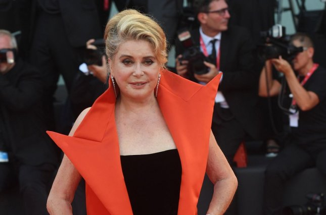 Catherine Deneuve is recovering from a mild stroke according to a statement released by her reps. File Photo by Rune Hellestad/UPI