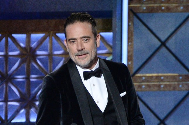Jeffrey Dean Morgan will host Friday Nights In with The Morgans along with his wife Hilarie Burton Morgan beginning April 17 on AMC. File Photo by Jim Ruymen/UPI