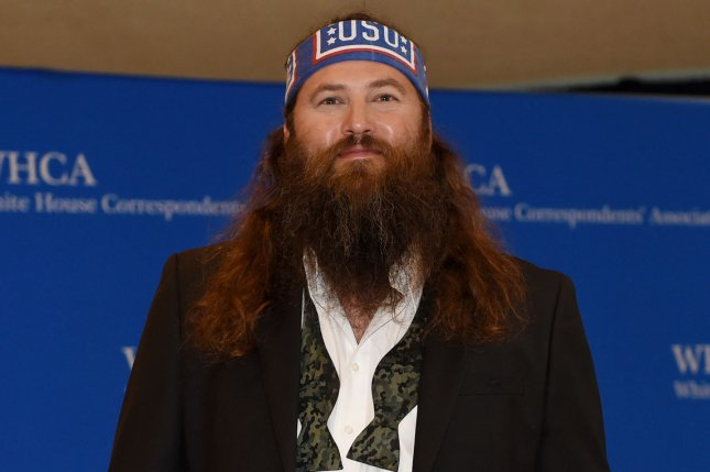 Willie Robertson of Duck Dynasty producer on upcoming Nicolas Cage film Left Behind. UPI/Molly Riley