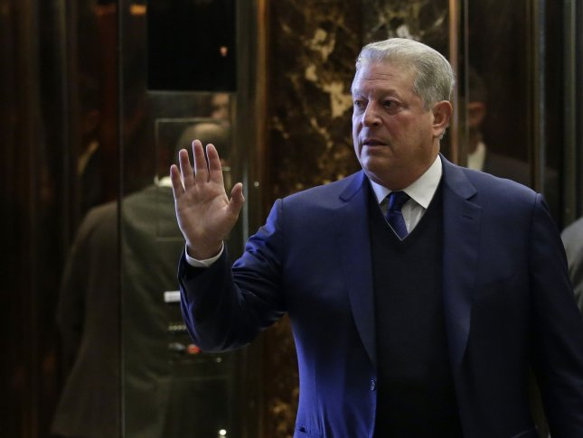 Former Vice President Al Gore, pictured leaving Trump Tower in December, revived a summit on climate change that had been organized by the CDC but then quietly canceled earlier this week over fears of blowback from the administration of new President Donald Trump. Photo by John Angelillo/UPI