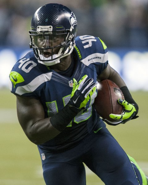 Former Seattle Seahawks and Atlanta Falcons fullback Derrick Coleman has reportedly agreed to a deal with the Arizona Cardinals. File photo by Jim Bryant/UPI