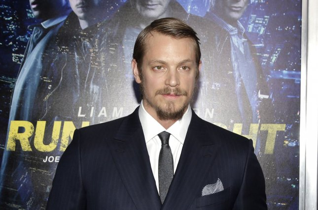 Joel Kinnaman arrives on the red carpet at the premiere of Run All Night at AMC Lincoln Square in New York City on March 9, 2015. The actor turned 40 on November 25. File Photo by John Angelillo/UPI