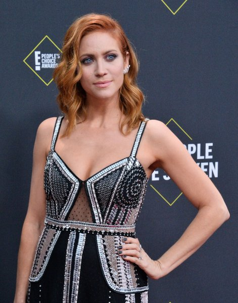 Brittany Snow arrives for the 45th annual E! People's Choice Awards at the Barker Hangar in Santa Monica, Calif., on November 10, 2019. The actor turns 35 on March 9. File Photo by Jim Ruymen/UPI